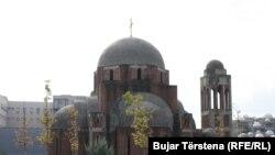 Objekti i kishës ortodokse në Prishtinë