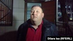 Дінмұхамед Артықов, жергілікті белсенді. Шымкент, 14 наурыз 2018 жыл