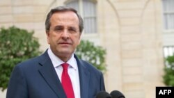 Greek Prime Minister Antonis Samaras's seems to have fared worse than he hoped in Greece's snap elections. (file photo)