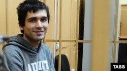 """""""Болотный ісі"""" бойынша сотталып, бостандыққа шыққан Андрей Барабанов."""