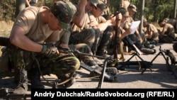 Бійці Національної гвардії України на навчаннях
