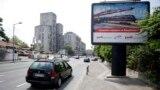 Serbia Russia billboards