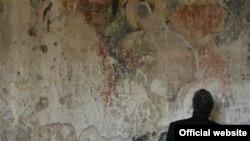 ბაგრატ მესამის ფრესკული გამოსახულება ბედიის მონასტერში