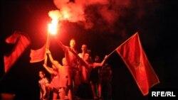 Slavlje zbog srebrne medalje crnogorskih rukometašica