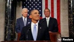 ԱՄՆ- Նախագահ Բարաք Օբաման Կոնգրեսում հանդես է գալիս ամենամյա ուղերձով, Վաշինգտոն, 28-ը հունվարի, 2014թ․