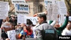 «Դեմ եմ» շարժման բողոքի ցույց Երևանում։ Հունիս, 2018 թ․
