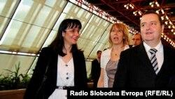 Snežana Malović i Ivica Dačić