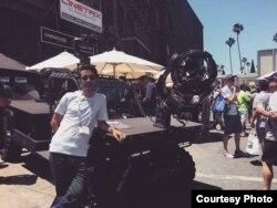 "Behzad Moloud Amerikada ""Paramount"" film studiyasında"