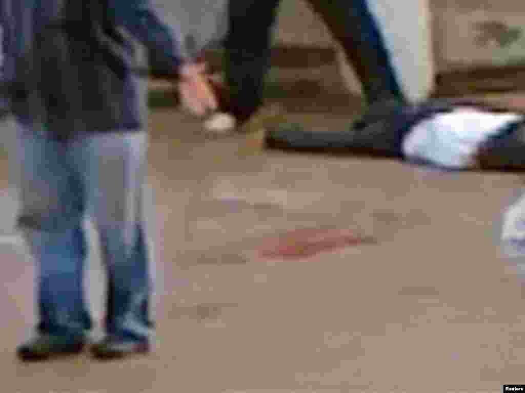 Протесты в Даръа, где в марте 2011 пролилась первая кровь. 23 марта 2011 г.
