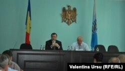 Premierul Vlad Filat şi primarul de Bălţi Vasile Panciuc