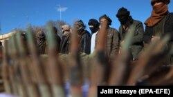 Disa militantë talibanë.