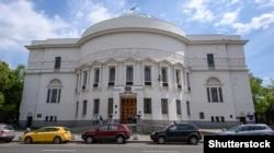 Колишня будівля Української Центральної Ради у Києві, нині Будинок вчителя