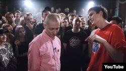 Баттл российских рэперов Oxxxymiron и Гнойный (Слава КПССС)