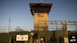 ورودی بخشی از زندان گوانتانامو