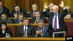 Члени уряду на сьогоднішньому засіданні парламенту