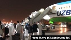Ўзбекистонликлар авваллари Умрага аксар пайтларда Uzbekistan Airways учоқлари билан борган.