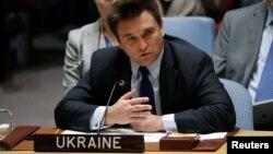 Міністр закордонних справ України Павло Клімкін на засіданні Ради безпеки ООН, Нью-Йорк, 23 вересня 2016 року