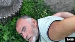 А.Пукач падчас затрыманьня ў 2009 годзе