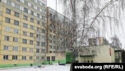 Інтэрнаты на вуліцы Крупскай у Магілёве