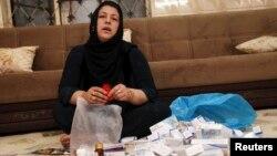 Жртва на хемиски напад во Сирија.