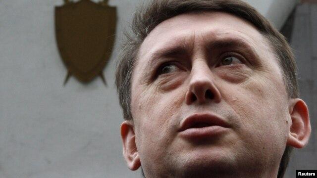 Mykola Melnychenko, the former bodyguard of Ukrainian ex-President Leonid Kuchma.