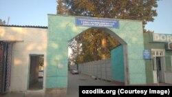 COVID-центр, организованный в селе «Бегат» Кувинского района Ферганской области.