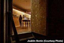 Тунэль-выстава адкрытая ў межах Лёнданскага фэстывалю архітэктуры. Фота: Joakim Boren