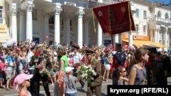 Парад, посвященный Дню победы в Севастополе. 9 мая 2013 года