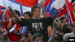 Jedan od mitinga u Herceg Novom, arhivska fotografija