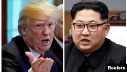 Donald Trum və Kim Jong Un