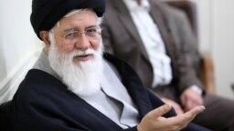 Ayatollah Ahmad Alamolhoda (above) is a staunch critic of Iranian President Hassan Rohani.