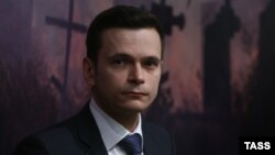Russian opposition politician Ilya Yashin (file photo)