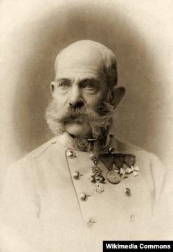 Франц Ёзэф І, імпэратар Аўстрыі і манарх Аўстра-Вугоршчыны ў 1848-1916 гг.