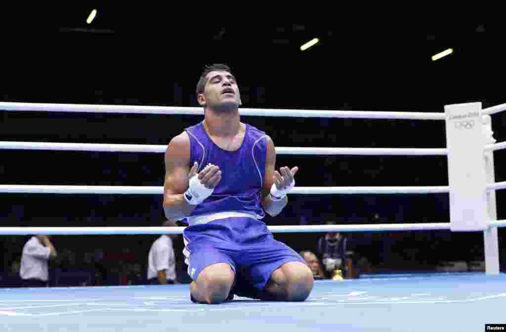 Іранський боксер Мехді Толоуті