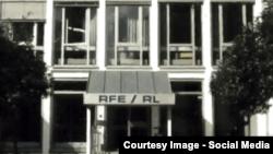Sediul din Munchen al postului de radio Europa Liberă.