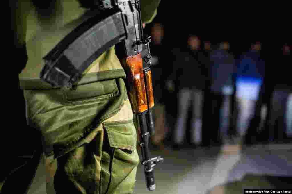 Обмен военнопленными на нейтральной территории в Украине