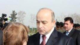 Lower house speaker Shukurjon Zuhurov (file photo)