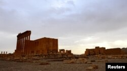معبد بعل بخشی از این شهر باستانیست که به دست افراطیون نابود شده است