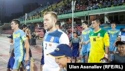Кыргыз футболчуларынын жеңиши