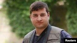 الصحفي صباح البازي الذي قتل في الهجوم على مجلس محافظة صلاح الدين