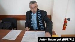 Сулейман Кадыров на суде в Феодосии, 28 февраля