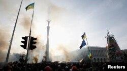 Piața Independenței la Kiev