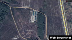База ЧВК Вагнера на Google Maps (скриншот)