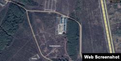 """База """"ЧВК Вагнера"""" на Google Maps (скриншот)"""