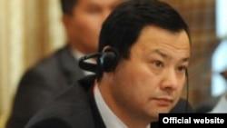 Qirg'iziston Respublikasi Tashqi ishlar vaziri Ruslan Kazakbayev.