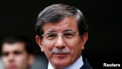 Шефот на турската дипломатија Ахмет Давутоглу