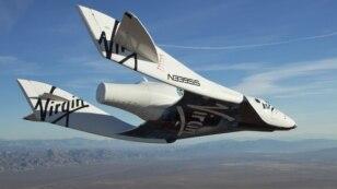Касьмічны карабель Virgin Galactic SpaceShipTwo