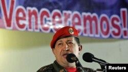 Венесуэла Президенти Уго Чавез.