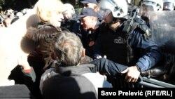 Protesta në Podgoricë