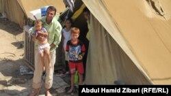 Сириски бегалци во Ирак.